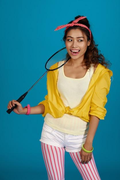 Genieten van badminton Gratis Foto