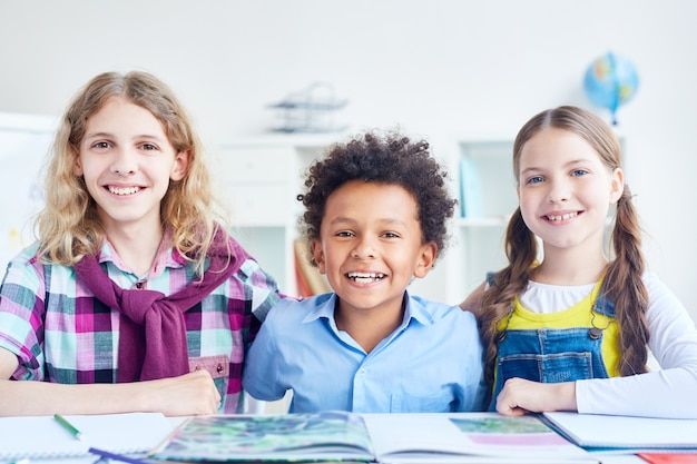 Genieten van school Gratis Foto