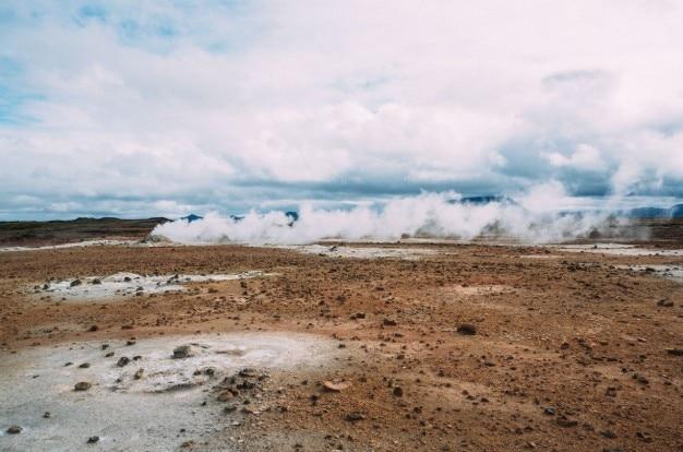 Geothermische putten Gratis Foto