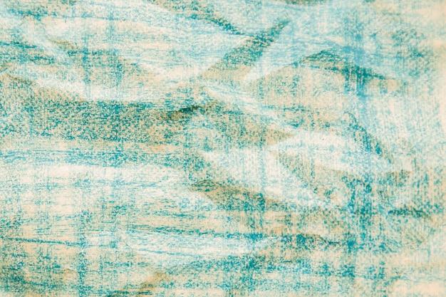 Gerimpelde blauwgekleurde papieren textuur Gratis Foto