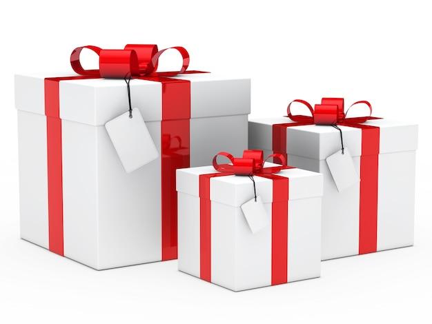 Geschenken met verschillende maten Gratis Foto