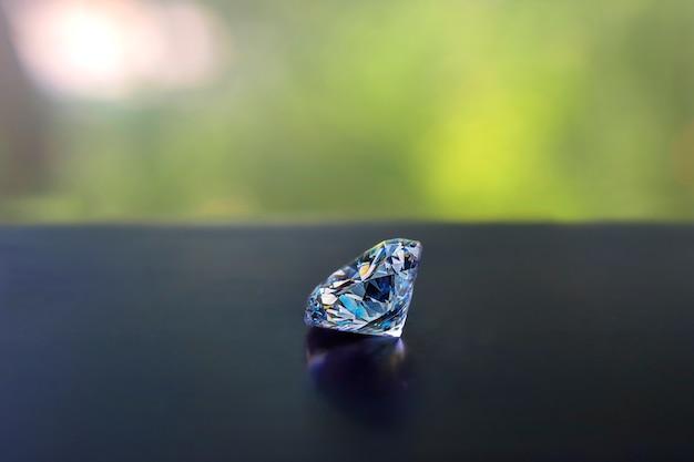 Geselecteerde diamanten zijn helder en schoon. mooi Premium Foto