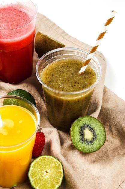 Gezond fruit smoothie Gratis Foto