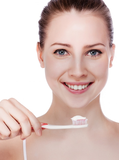 Gezonde tanden Premium Foto