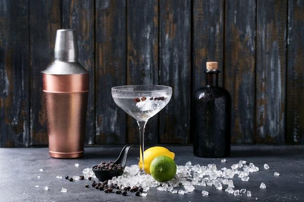 Gin en tonic drankje Premium Foto