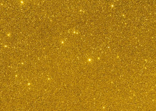 Glanzende gele lichte exemplaar ruimteachtergrond Premium Foto