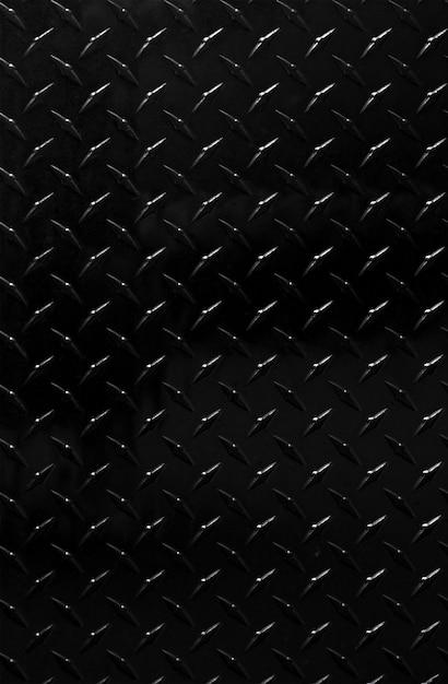 Glanzende zwarte metaal gevormde achtergrond Gratis Foto