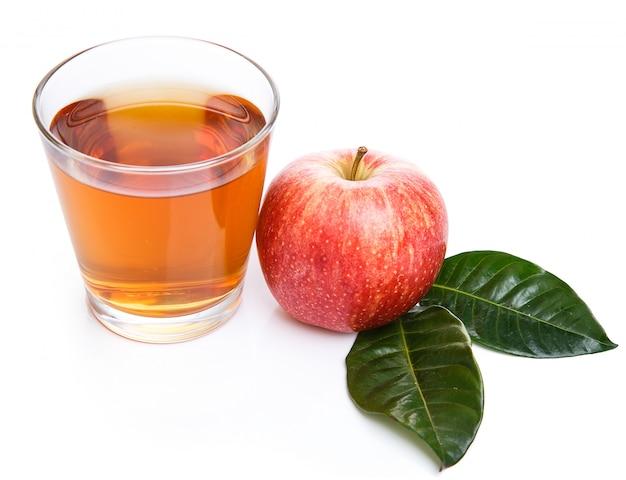 Glas appelsap Gratis Foto