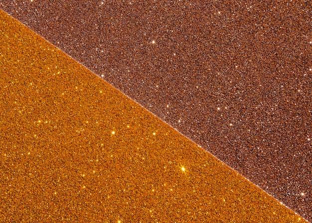 Goud metaal met glitters en kopie ruimte Gratis Foto