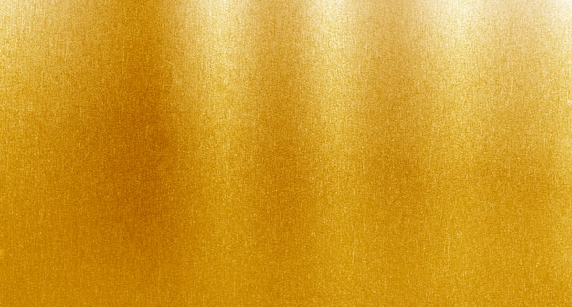 Gouden metaal geborstelde achtergrond Premium Foto