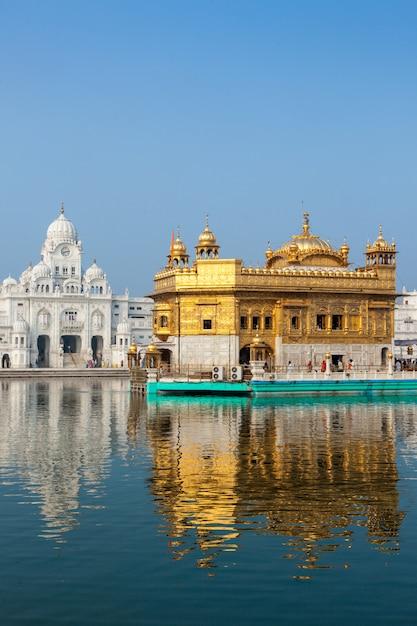 Gouden tempel, amritsar Premium Foto