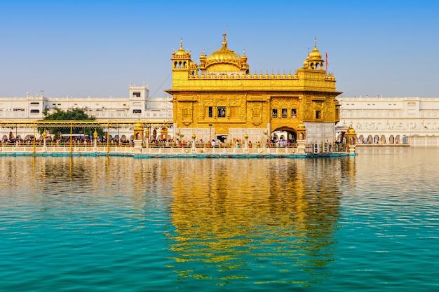 Gouden tempel Premium Foto