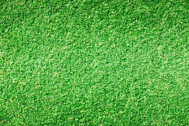 Gras achtergrondgolfbanen groen gazon Premium Foto