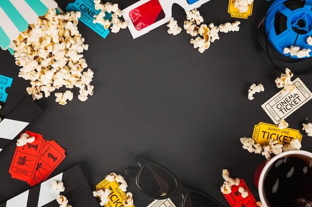 Grens van bioscoopdingen Gratis Foto