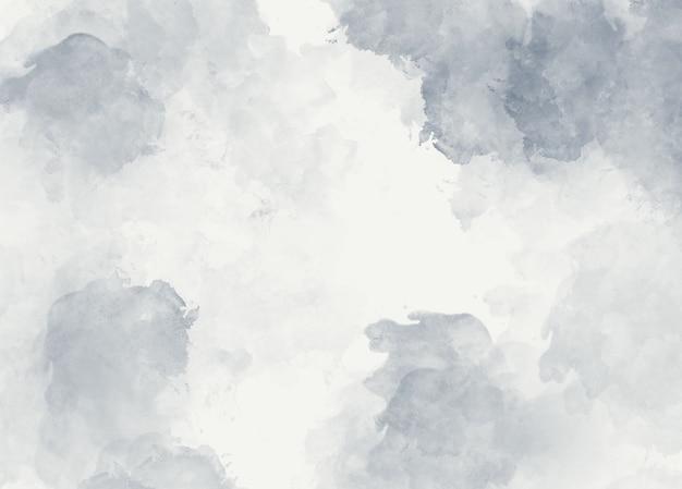 Grijze aquarel zachte abstracte achtergrond Premium Foto