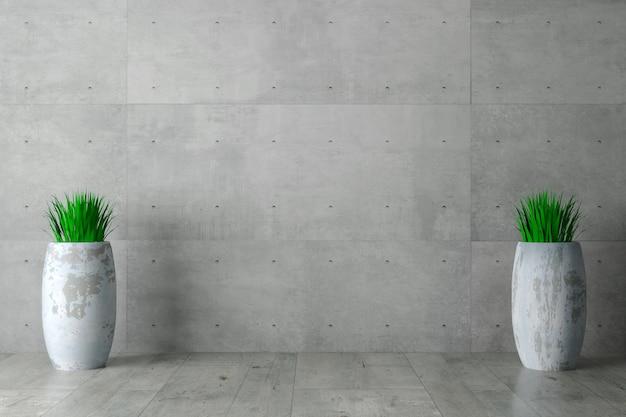 Grijze betonnen muur monolithisch Premium Foto