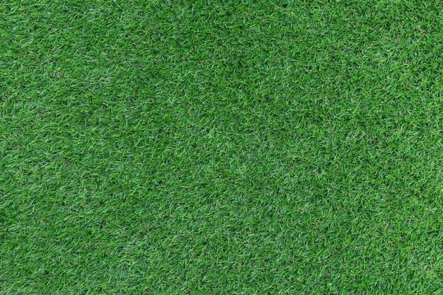 Groen kunstgraspatroon en textuurachtergrond Premium Foto