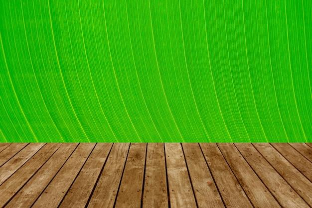 Groene bladeren natuurlijke achtergrondbehang, textuur van blad, bladeren met ruimte voor tekst Premium Foto
