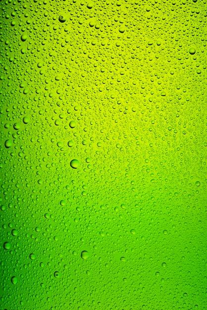 Groene fles bier textuur Premium Foto