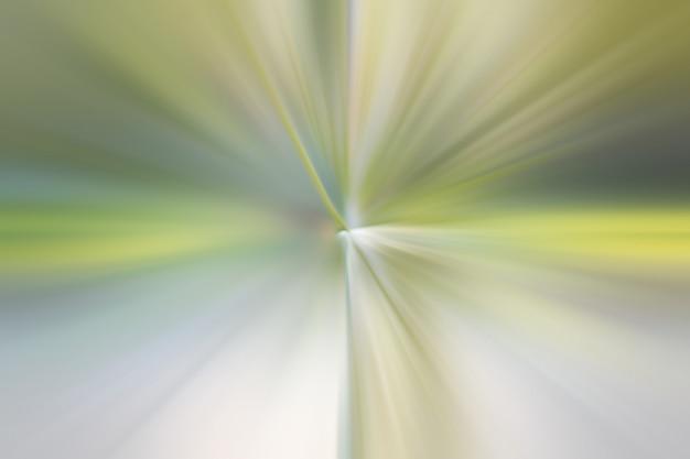 Groene kleur gloeiende deeltjes en lijnen. prachtige abstracte stralen achtergrond Premium Foto