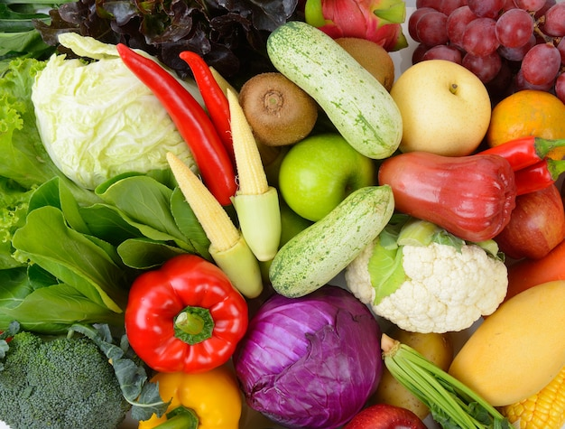 Groenten en fruit Premium Foto