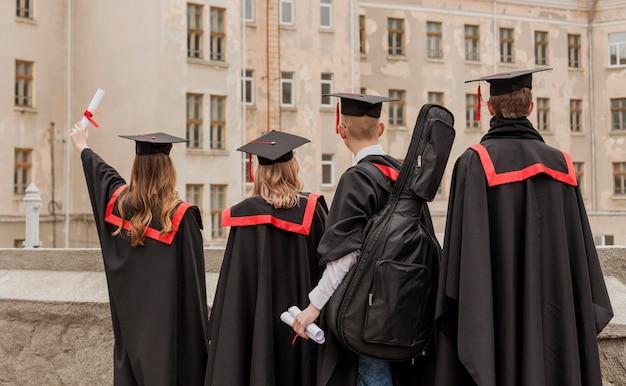 Groep afgestudeerde studenten Gratis Foto