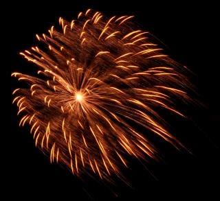 Groot vuurwerk, nieuwjaar Gratis Foto