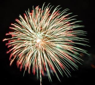 Groot vuurwerk, vuurwerk Gratis Foto