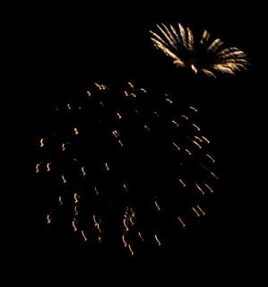 Grote kleurrijke vuurwerk, independenceday Gratis Foto
