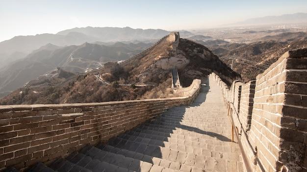 Grote muur van china Premium Foto