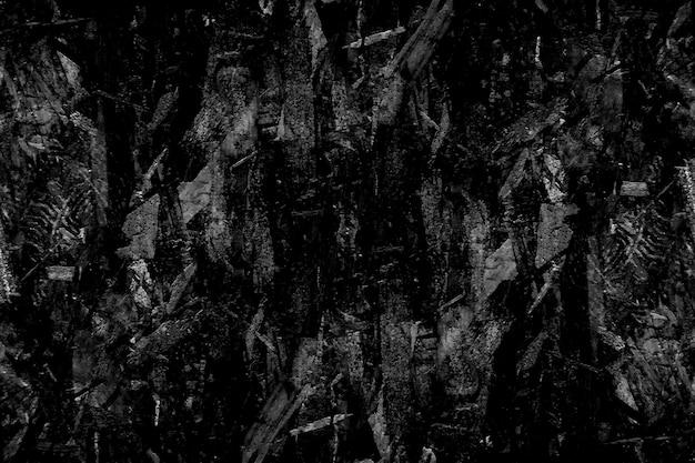 Grunge zwarte textuur Premium Foto