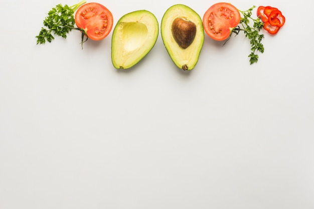 Guacamole-ingrediënten Gratis Foto