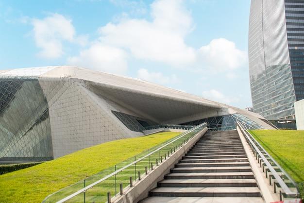 Guangzhou, china-nov.22, 2015: guangzhou opera house. guangzhou Gratis Foto
