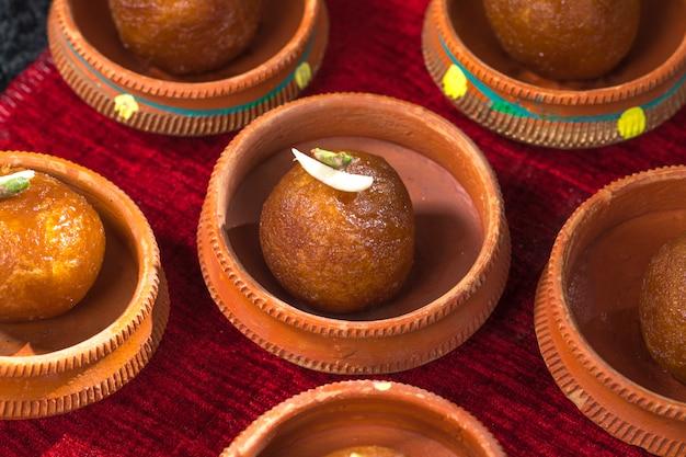 Gulab jamun Premium Foto