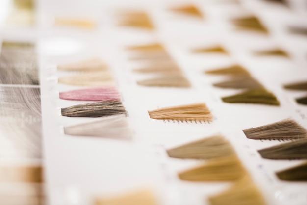 Haarkleuren catalogus Gratis Foto