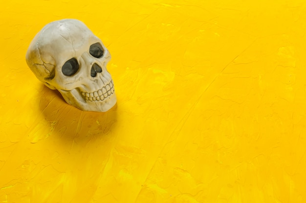 Halloween-decoratie op de lijst Premium Foto