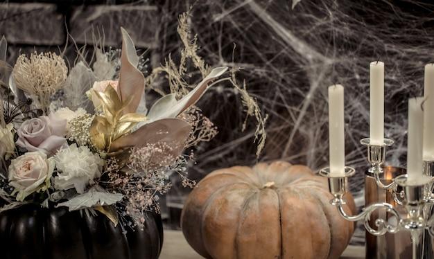 Halloween gotische decorelementen Gratis Foto