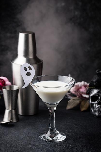 Halloween kokos cocktail Premium Foto