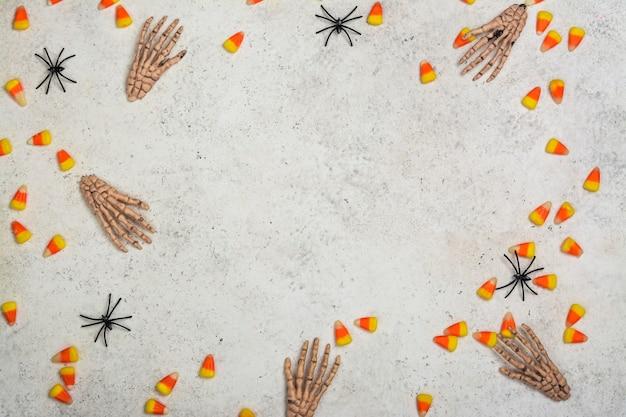 Halloween vakantie achtergrond Premium Foto