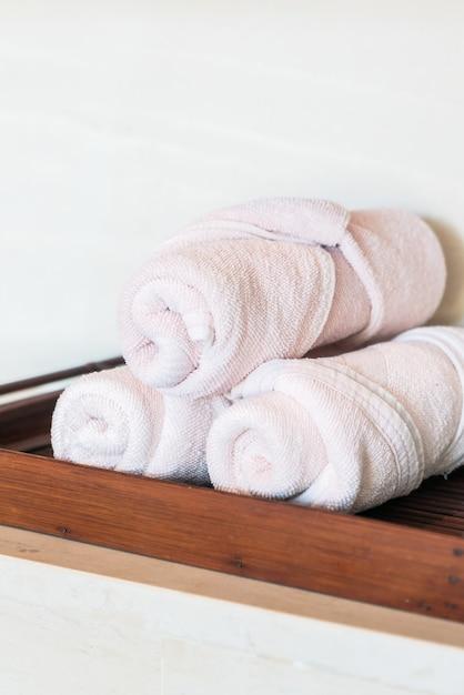 Handdoek stapel Gratis Foto