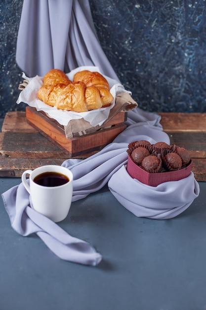 Heerlijk chocoladedessert Gratis Foto