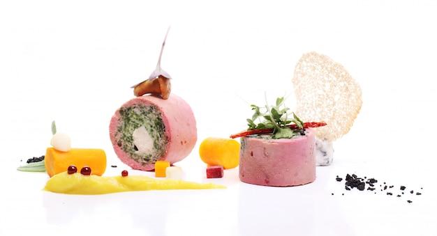 Heerlijk gastronomisch eten Gratis Foto