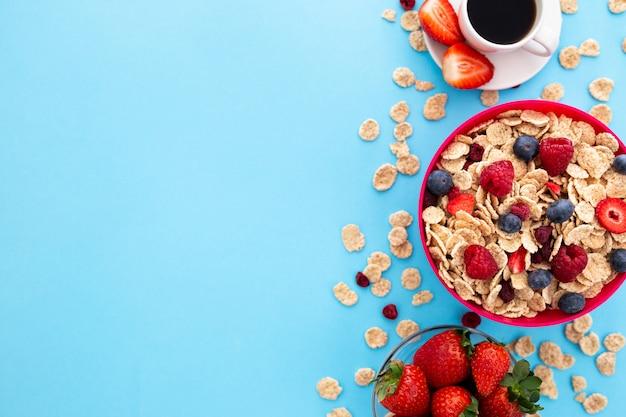 Heerlijk gezond ontbijt Gratis Foto