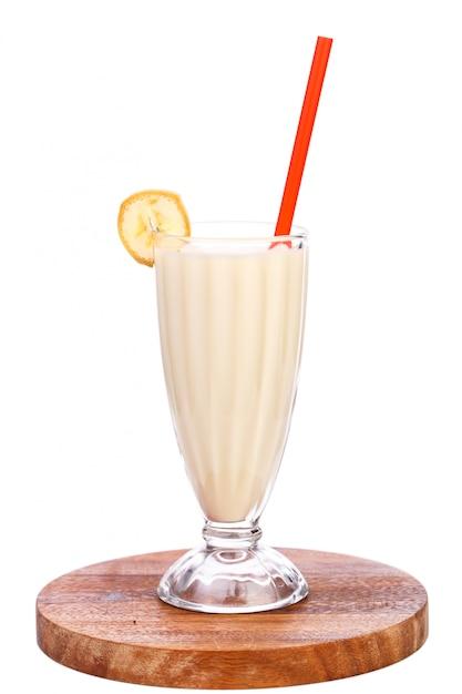 Heerlijke bananenmilkshake Gratis Foto