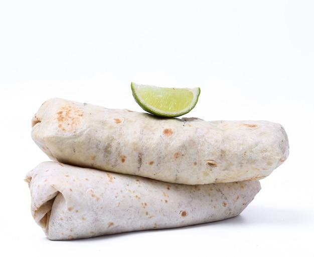 Heerlijke burrito Gratis Foto