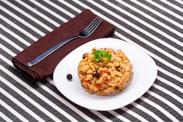 Heerlijke couscous Premium Foto