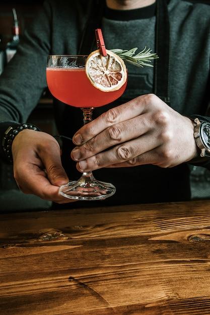 Heerlijke exotische cocktail Gratis Foto
