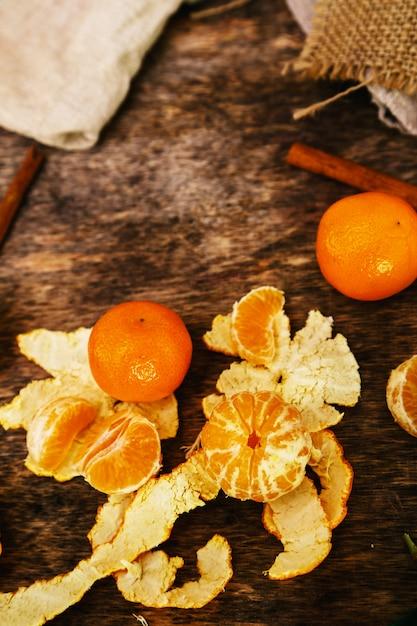 Heerlijke mandarijn Gratis Foto