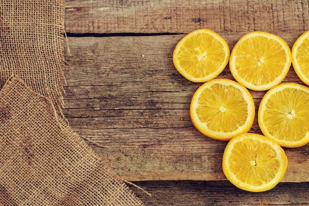 Heerlijke oranje achtergrond Gratis Foto