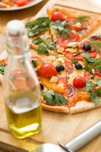 Heerlijke pizza Gratis Foto